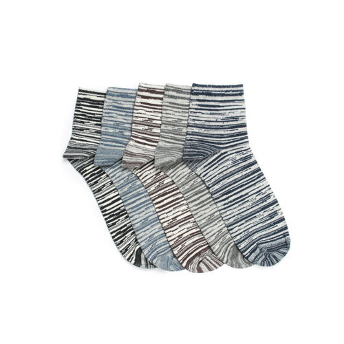59c1accd44c Buy Supersox Men Set of 5 Ankle-Length Socks online