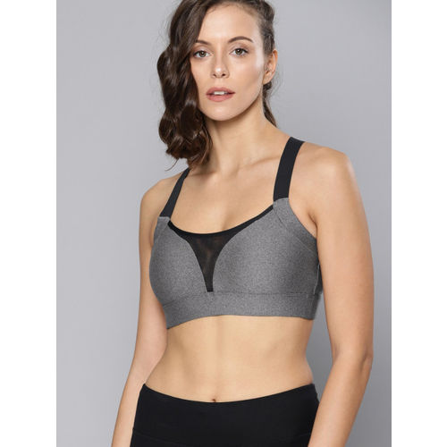 4ce0c1fd49fc8 ... UNDER ARMOUR Charcoal Grey Non Wired Solid Heather Sport Bralette - GRY  Bra 1317105 ...