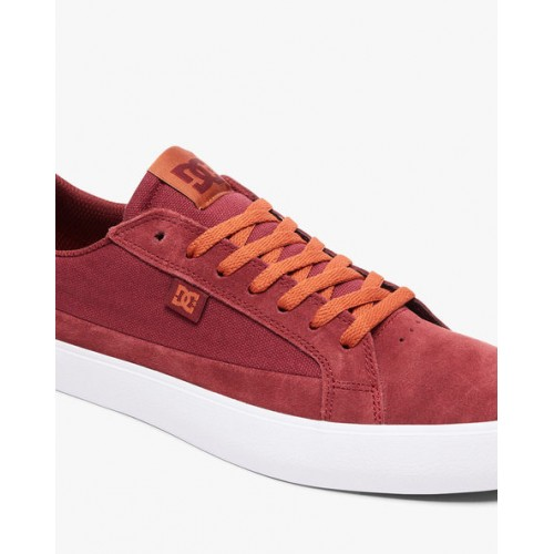 DC Shoes Lynnfield Low-Top Panelled Sneakers