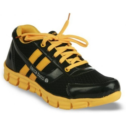 Bacca Bucci Men's Black Sports Shoes