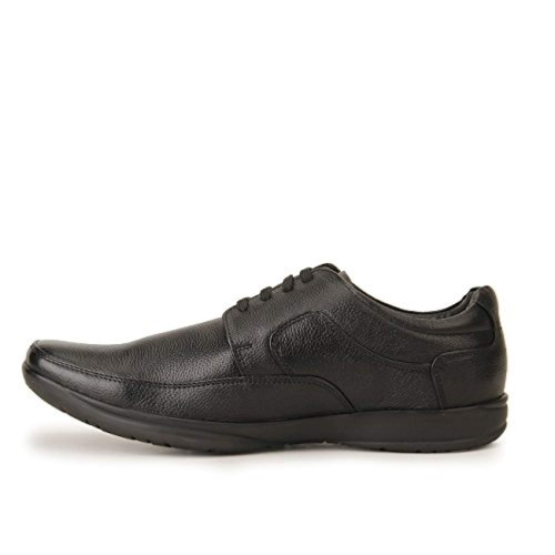 Red Chief Black Formal Shoes for Men Size - 07 (RC1090 001)