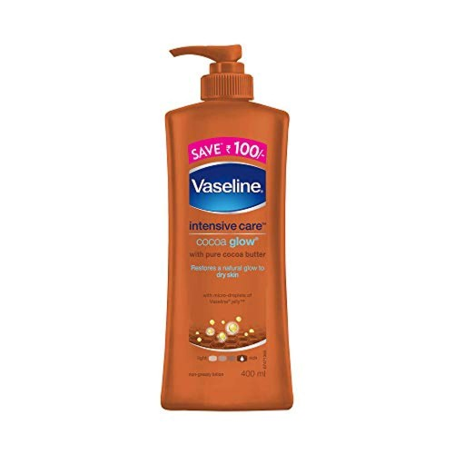 Vaseline Intensive Care Cocoa Glow Body Lotion, 400ml