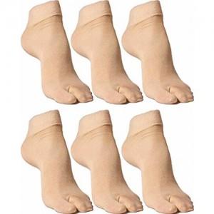 790d0f48139 YASH ENTERPRISES Yash Enterprises Women s Skin Colour Socks Pack Of - 6