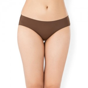 PrettySecrets Women Brown Solid Seamless Hipster