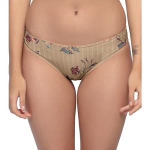 Enamor Women Hipster Beige Panty(Pack of 1)