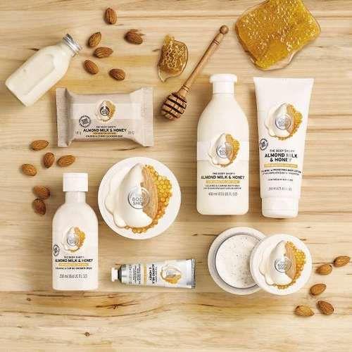 The Body Shop Almond Milk & Honey Soothing & Restoring Body Lotion