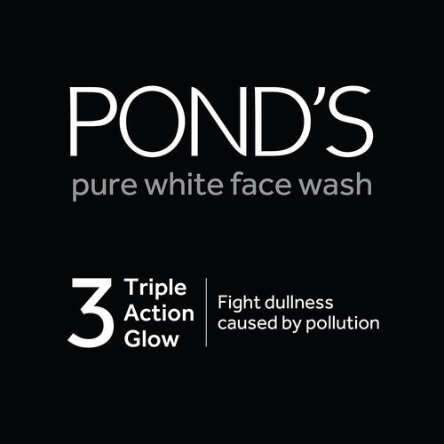 Ponds Pure White Anti-Pollution + Purity Face Wash