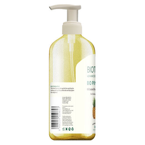 Biotique Bio Pineapple Oil Control Foaming Face Wash