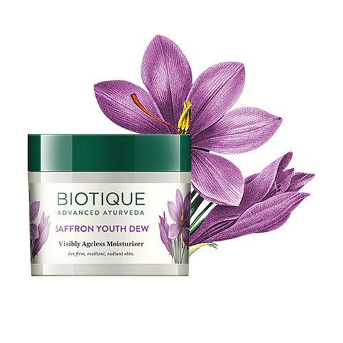 Biotique Saffron Youth Dew Visibly Ageless Moisturizer