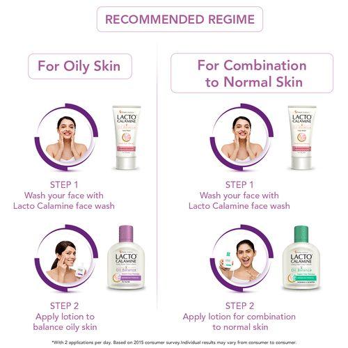Lacto Calamine Oil Balance Face Scrub