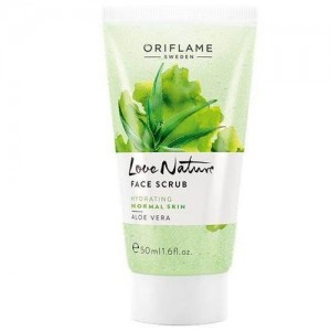 Oriflame Love Nature Face Scrub Aloe Vera