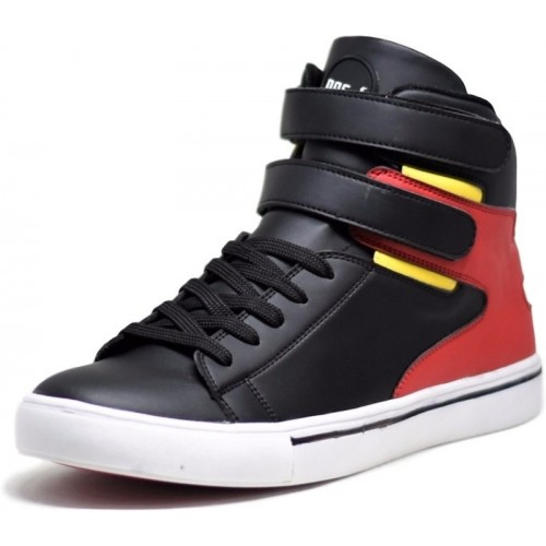 DOC Martin Black Everest Mid Top Sneakers For Men(Multicolor)