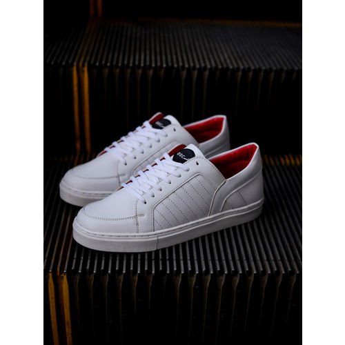 DOC Martin White Python Sneakers
