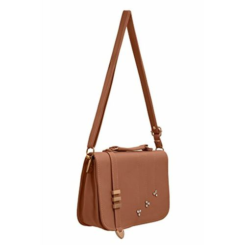 TAP FASHION Fancy Stylish PU Synthetic Sling Bag