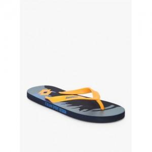 Lotto Benito Yellow & Blue Flip Flops