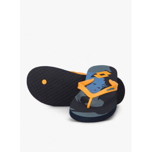 Lotto Benito Yellow & Blue Flip Flops