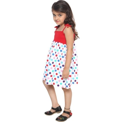 Lil Orchids Girl's A-line Dress