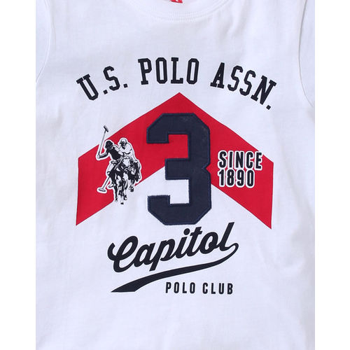USPA Graphic Print Crew-Neck T-shirt