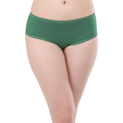 Clovia Women Hipster Green Panty(Pack of 1)