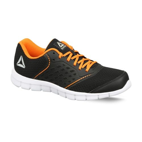 REEBOK GUIDE STRIDE RUN LP Walking Shoes For Men(Black, Orange)