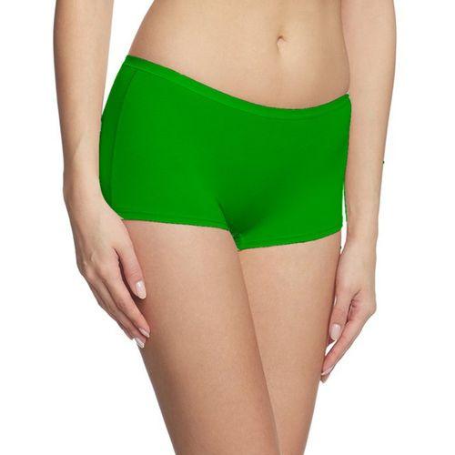 Fashion Line Women's Boy Short Dark Green Panty(Pack of 1)