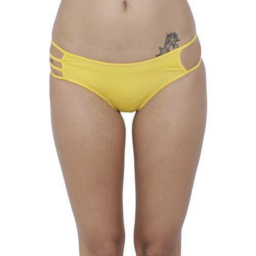 7e01138d3 Buy BASIICS by La Intimo Women Bikini Yellow Panty(Pack of 1) online ...