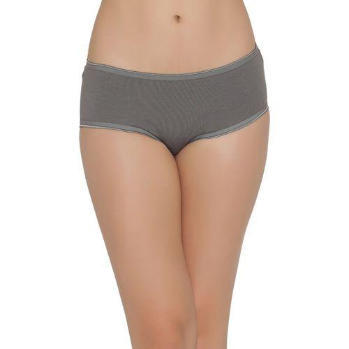 Clovia Women's Hipster Grey Panty(Pack of 1)