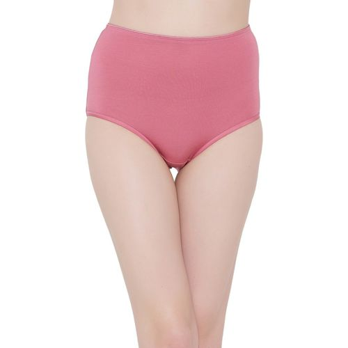 3e2297475dd8 Buy Clovia Women's Hipster Pink Panty(Pack of 1) online | Looksgud.in