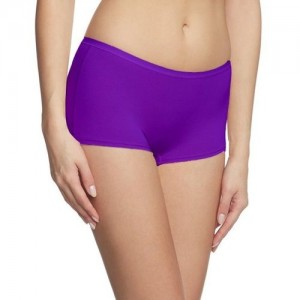 Fashion Line Women's Boy Short Purple Panty(Pack of 1)