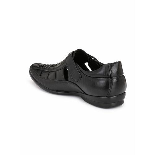 32bec2d82c72 Buy El Paso Men s Black Slip On Velcro Casual Sandals online ...