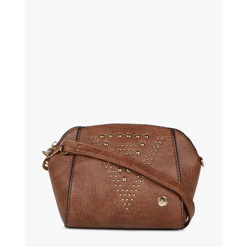 Textured Slingbag with Detachable Sling Strap