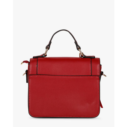 E20 Red Sling Bag with Detachable Strap