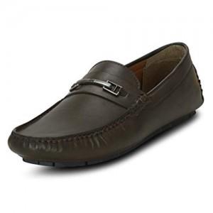 Get Glamr Black Men's Loafers