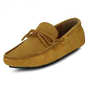 Get Glamr Men's Tan Loafers