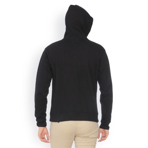 Campus Sutra Men Pack of 2 Black Hooded Sweatshirts