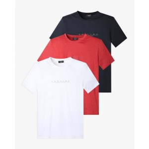 PROLINE Pack of 3 Printed Crew-Neck Running T-shirts