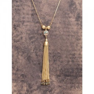 DIVA WALK Gold-Toned Brass Handcrafted Chain