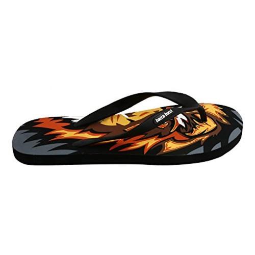 Bacca Bucci Men's Black Flip Flops