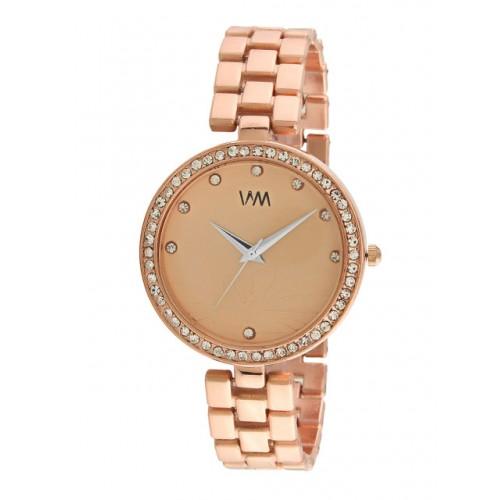 WM Women Rose Gold Analogue Watch WMAL-335newaa