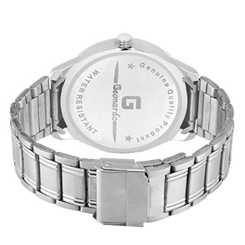 Geonardo Quartz Chronograph White Dial Men's Watch - GDM036