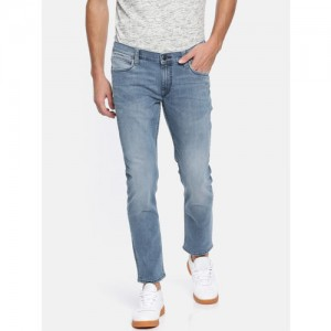 Lee Men Blue Skinny Fit Low-Rise Clean Look Stretchable Jeans
