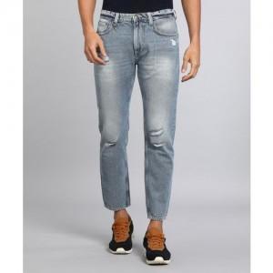 Lee Blue Cotton Slim Fit  Jeans