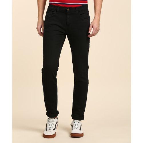 Lee Black Cotton Slim Fit Jeans
