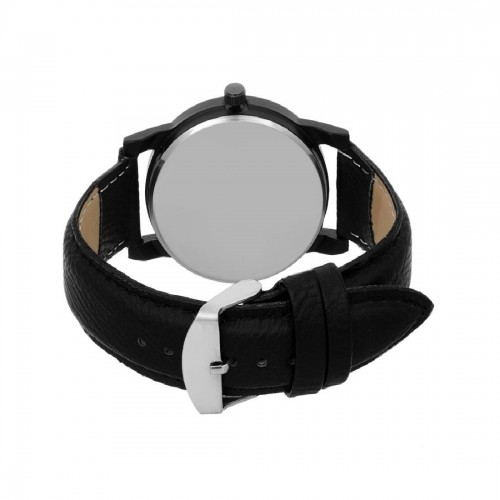 Taj OM Ganpate Namah Black Watch For Men
