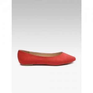 DOROTHY PERKINS Women Red Solid Ballerinas