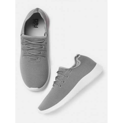 Crew STREET Men Grey Sneakers