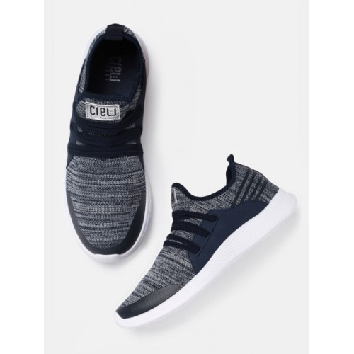 Crew STREET Men Navy Blue Sneakers