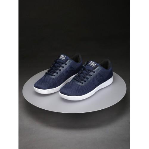 Crew STREET Men Navy Blue Sneakers