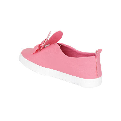 Do Bhai Pink Synthetic Slip On Casual shoes