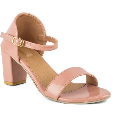 Cute Fashion Women Pink Heels